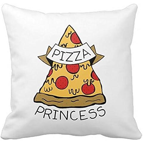 Generic Pizza Princess Cuscino Throw Pillow Case