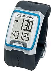 SIGMA V260311B Montre Cardiofrequencemètre Mixte Adulte, Noir/Bleu