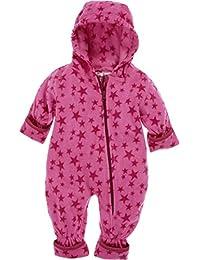 Playshoes Fleece-Overall Sterne, Traje de esquí para Bebés