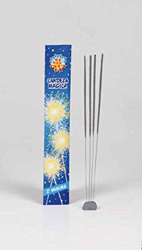 60-pz-Candeline-2-misura-scintille-bastoncino-luminoso-pirotecnico-stelline-festa-Borgonovo