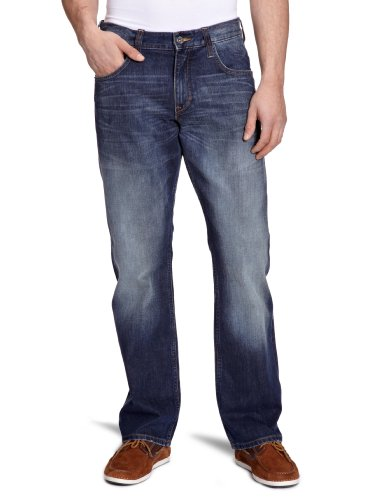 Mustang Jeans - Jean Loose / Relaxed Fit -  Homme Bleu (Scratched Used 081)