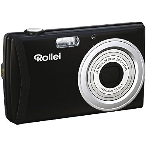 Rollei Compactline 750 - Cámara compacta de 16 megapíxeles, con zoom óptico 5 x, color negro