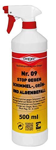 Geiger Chemie Nr. 09 Stop gegen Schimmel 500 ml Flasche