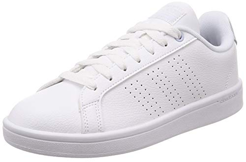 the latest fc3be 84896 adidas Damen Cloudfoam Advantage Clean Fitnessschuhe, Weiß Ftwbla Aeroaz  000, 40 EU