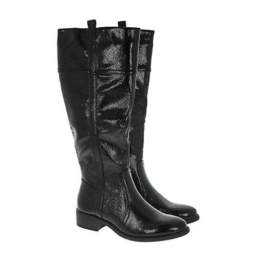 Capella Heavenly Feet Stivali Nero Vernice Black Patent