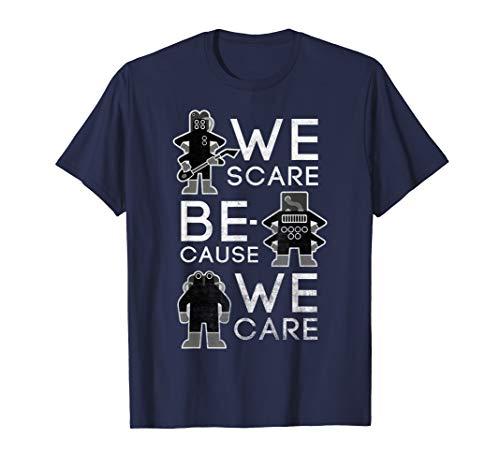 Disney Pixar Monsters Inc. Scare Because We Care T-Shirt (Pixar Monsters Inc)