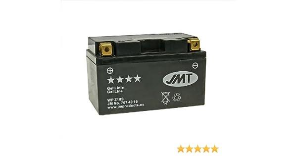 Verkaufspreis inklusive 7,50 EUR gesetzlicher Batteriepfand JM-Products Batterie JMT Gel JMTZ10S