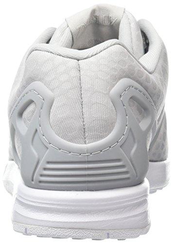 adidas ZX Flux, Scarpe da Ginnastica Basse Donna Grigio (Grey Two/grey Two/footwear White)