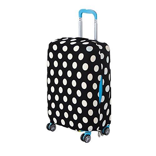 Bagaglio di viaggio copertura Xagoo di protezione trolley valigia antipolvere 18-20 pollici (bianco)