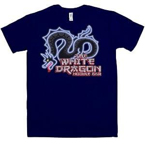 8Ball Originals - Mens Inspired By Blade Runner T Shirt - White Dragon Noodle Bar