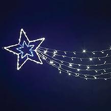 Immagini Di Stelle Comete Natalizie.Amazon It Stella Cometa Led Esterno