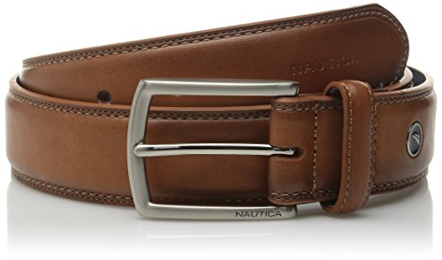 nautica-mens-leather-feather-edge-with-stitch-detail-1-3-8-inch-belt-34-cognac