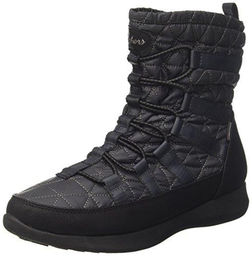 Skechers Damen Boulder Stiefel, Grau (Charcoal/Black), 39 EU