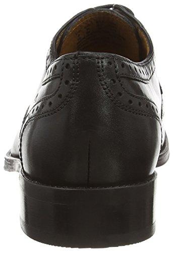 Clarks Kolby Limit, Derbies à lacets homme Noir (Black Leather)