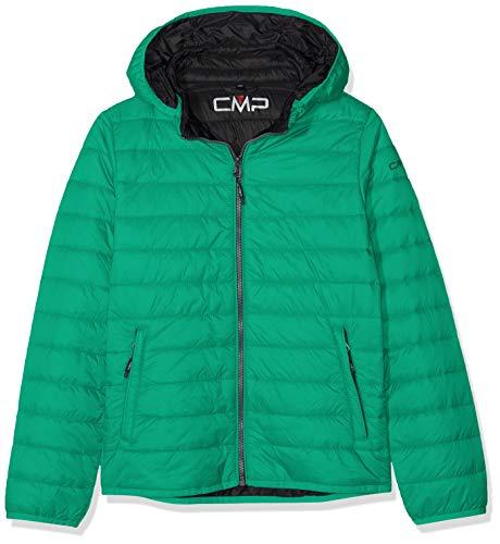 CMP PFC Free Feel Warm Flat 39Z5034, Giacca Bambino, Emerald, 164