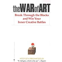 [(The War of Art : Break Through the Blocks and Win Your Inner Creative Battles)] [Author: Steven Pressfield] published on (November, 2012)