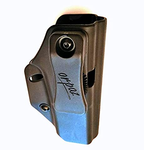 Orpaz Multi-Purpose IWB / OWB , Left Or Right Holster for Glock 17, 19, 22, 23, 26, 27, 34 ,39 Concealed Carry