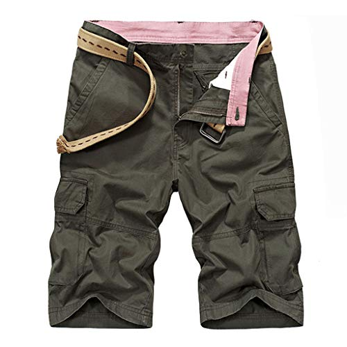 OPAKY Pantalones Cortos Verano Hombres Aire Libre