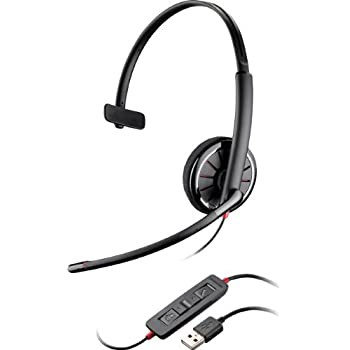 Plantronics Blackwire C310 Monaural USB headset for PC - optimised for Microsoft Lync