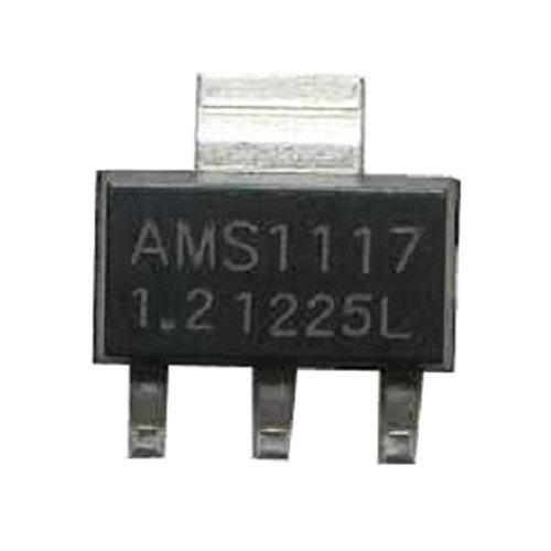 AMS1117-1.2V Low Dropout Linear Voltage Regulator SOT-223 with 3 Terminals 1A Output Current for Battery Chargers Motherboard Clock Supplies from Optimus Electric Pack of 40 -