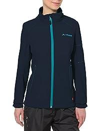 VAUDE Jacke Womens Cyclone Jacket IV - Cortavientos para Mujer, Color Azul, Talla 34
