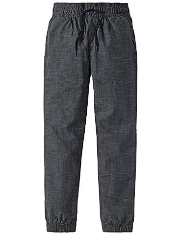 Schiesser Jungen Schlafanzughose Mix & Relax Webpants Blau (Nachtblau 804),