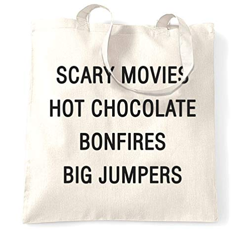 ragetasche Scary Movies, Hot Chocolate, Bonfires White One Size ()