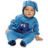 My Other Me - Disfraz de bebé perrito, talla 7-12 meses, color azul (Viving Costumes MOM01261)