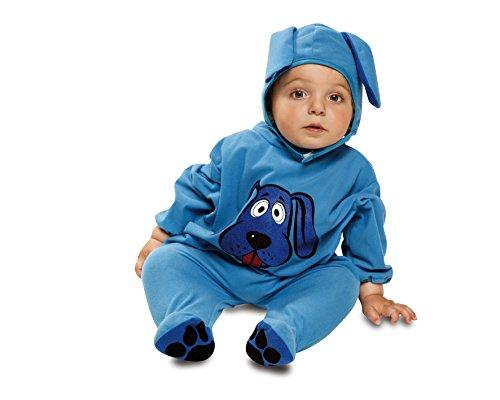 My Other Me Baby Kostüm Hund, Gr. 7-12Monate, Blau (viving Costumes mom01261) (Kostüm Baby Hund)