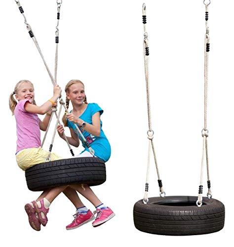 Gartenpirat Seilset für horizontale Reifenschaukel -