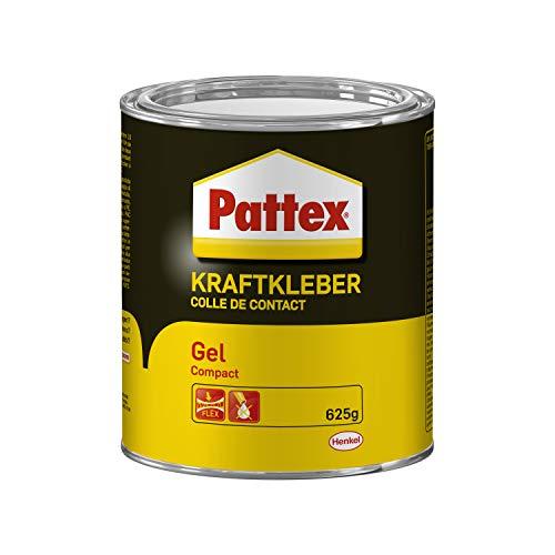 Pattex 1419342 Colle de Contact Gel Compact 625 g, Noir/Jaune