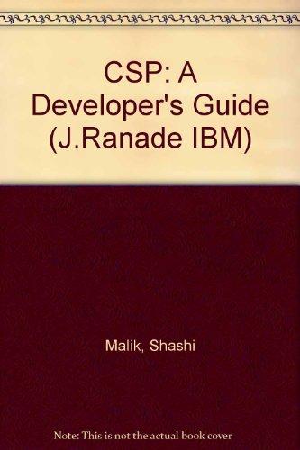 CSP: A Developer's Guide (J.Ranade IBM) por Shashi Malik