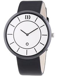 Danish Design Herren-Armbanduhr XL Analog Quarz Leder 3314454