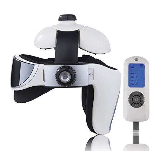 FDC Masajeador eléctrico de la Cabeza, Multi-direccional de la vibración neumática Inteligente con sendación de presión como Dedos, Masaje de relajación con música Relajante, masajedor de Casco