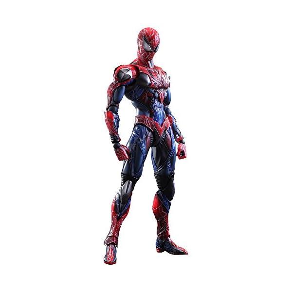 Square Enix Spiderman Marvel Universe Play Arts Kai Figura de acción 1