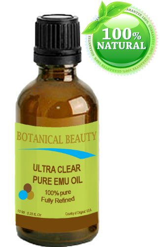 ultra-clear-pure-emu-oil-100-pure-033-oz-10-ml-fully-refined-golden-for-face-body-hair-lips-by-botan
