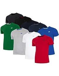 TSD006 SS18 4F T Shirt f/ür Damen T-Shirt Bluse Sportshirt Kurzarm Rundhalsausschnitt Fitness Gym Training Freizeit ,