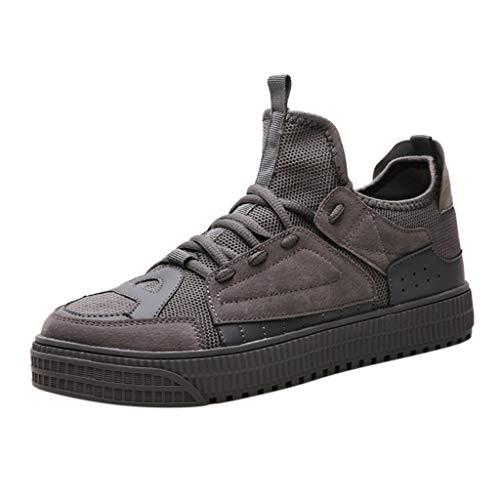 Sneaker Comode per Uomo E Donna Signori di Calzature Scarpe Trail Running Offerte Scarpe Running Professionali Migliori Scarpe Running Asfalto Sneakers Uomo Alte