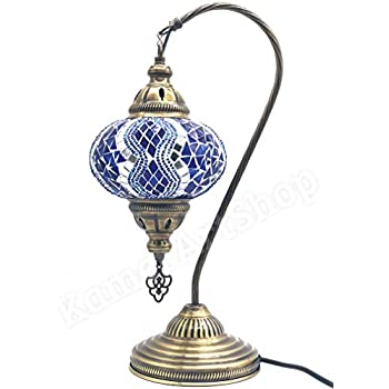Mosaïque Turkish Lampe Table Bureau De Et TlK1cFJ
