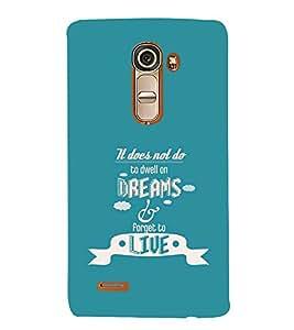 PrintVisa Designer Back Case Cover for LG G4 Mini :: LG G4c :: LG G4c H525N (Quote Love Heart Messages Crazy Express Sorry )