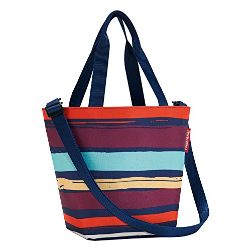 Reisenthel ZR3058 Shopper XS Artist Stripes, Polyester, Mehrfarbig, 31 x 21 cm