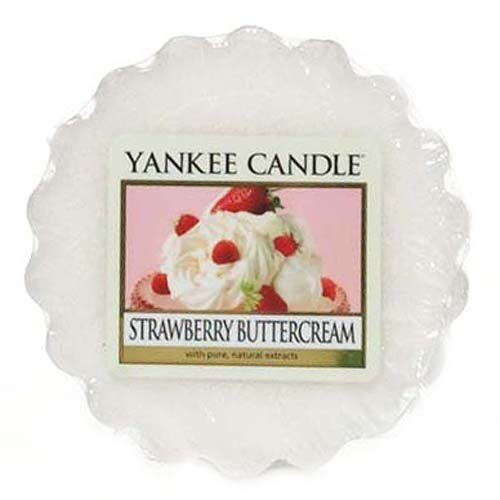 Yankee Candle 1173533E Candle Duft Tart STRAWBERRY BUTTERCREAM