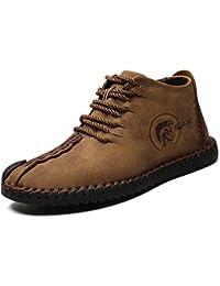 Botas de Nieve de los Hombres Zapatos de Senderismo Ligeros Calientes del Invierno Zapatillas de Deporte