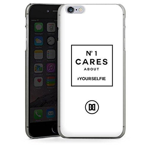 Apple iPhone X Silikon Hülle Case Schutzhülle Selfie Numberone Statements Hard Case anthrazit-klar