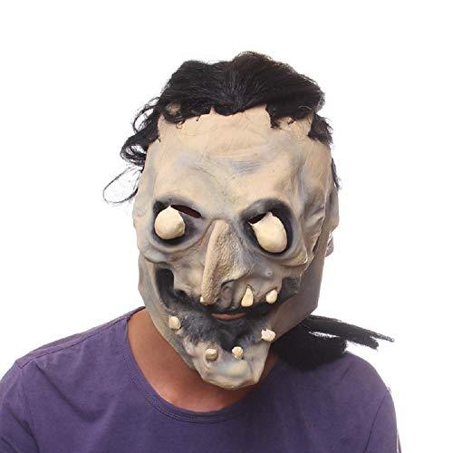 MIANJUTIA Halloween Horror Schädel Ghost Face Maske Neuheit -