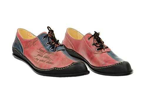 Classique Femme À Eject 17276 Chaussures Et Blue Kombi Lacets Coupe qwgtOHwP