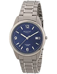 Regent Herren-Armbanduhr XL Analog Titan 11090247