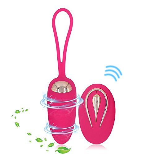 Funsquar USB Rechargeable Nouveau Type 12 Mode Étanche Silicone sans Fil Massage Saut d'Oeuf Jouet pour Femme Détendre, Amant Entre Le Romantisme Jeu Jouets
