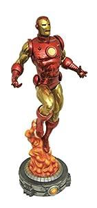Diamond- Classic Iron Man Clasico Figura 28 cm PVC Diorama Marvel Gallery, Color (DIAMV172648)