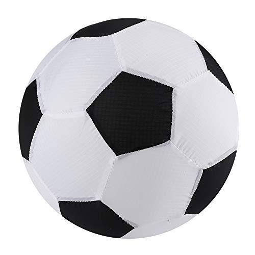 Bnineteenteam Aufblasbarer Stoff-Wasserball der Kinder, aufblasbarer Spielzeugball für Kinder zuhause und draußen(Fußball)
